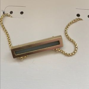 Kendra Scott Jewelry - Leanor Gold Pendant Necklace In Platinum Drusy NWT